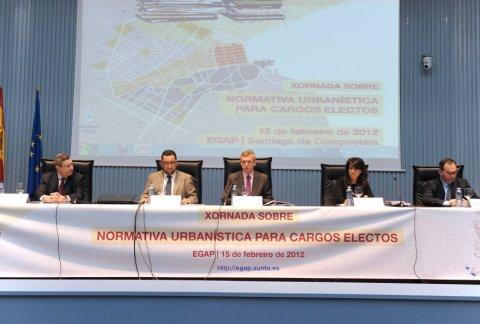 Inauguración da Xornada sobre normativa urbanística para cargos electos  - Xornada sobre normativa urbanística para cargos electos